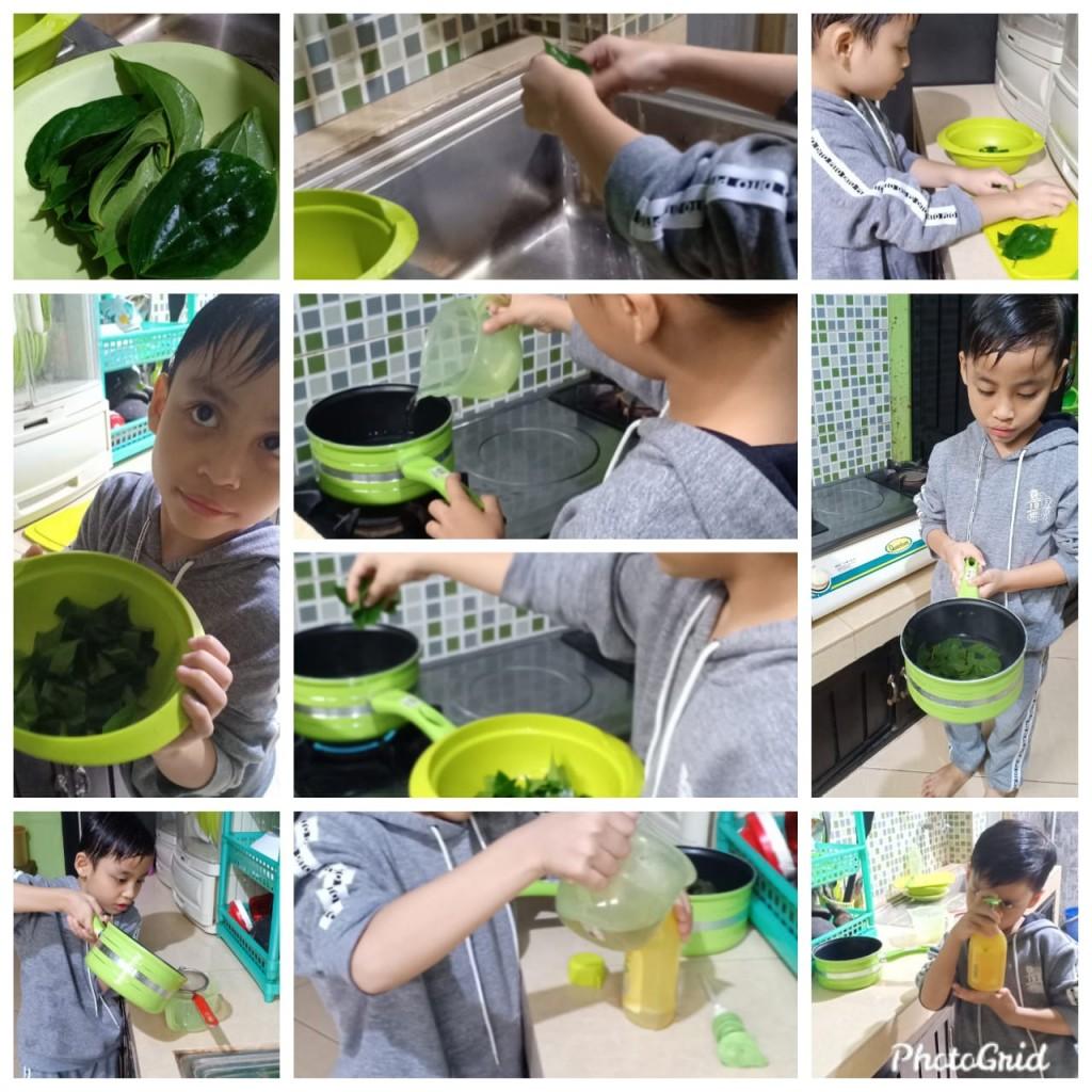 Pembuatan Hand santizier